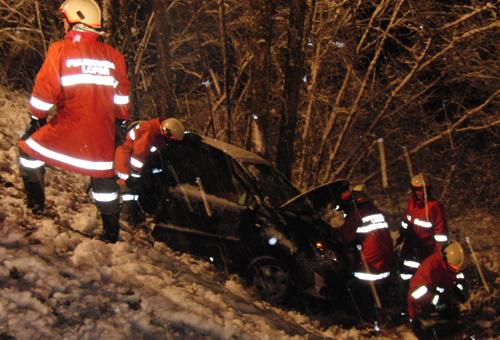 Verkehrsunfall Brent am 26. November 2010