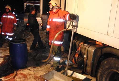 Verkehrsunfall Pass Strub am 27. November 2010
