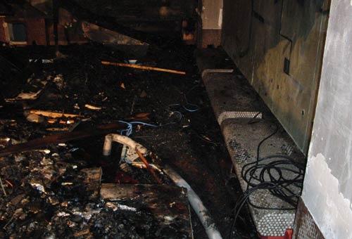 Hotelbrand in Saalbach am 26. Dezember 2011