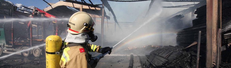 Einsatz der Feuerwehr Lofer