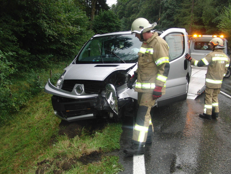Verkehrsunfall B178 am 10. September 2013