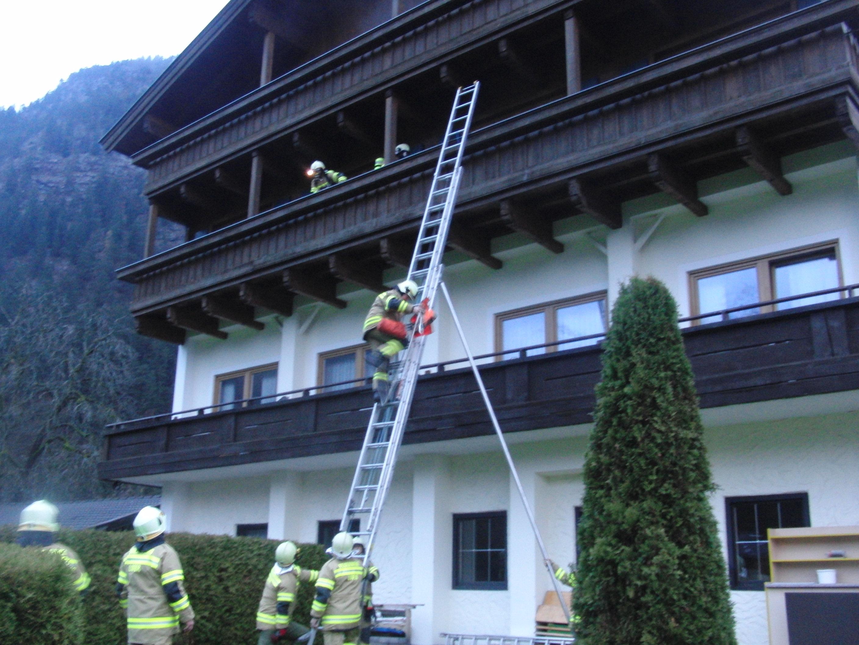 Übung Salzburgerhof am 9. November 2013