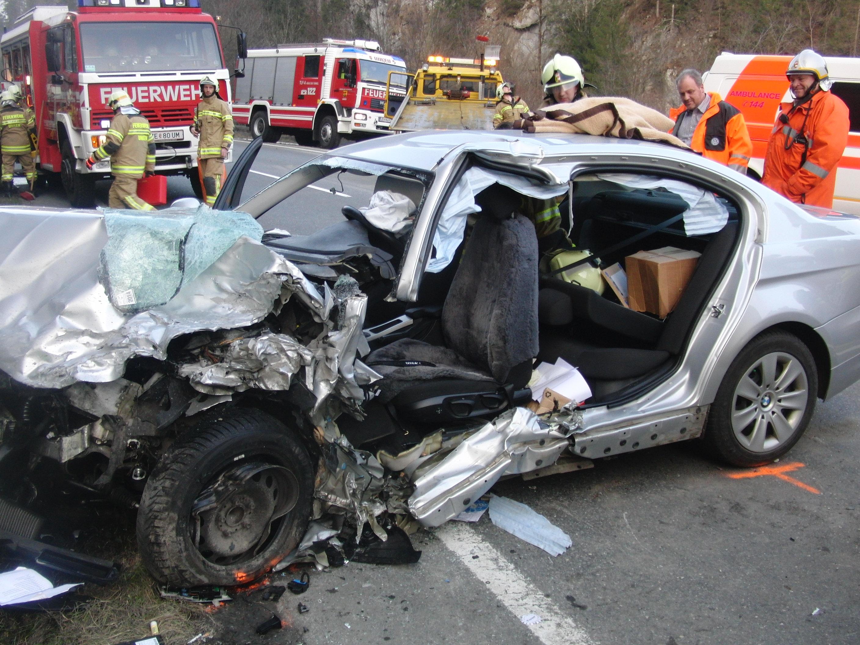 Verkehrsunfall B178, am 8. März 2014