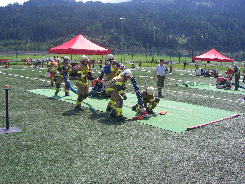 Feuerwehrleistungsbewerb Flachau am 22. Juni 2013