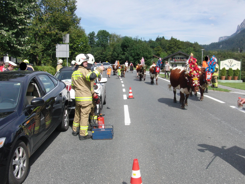 Verkehrsunfall Shell-Tankstelle 10.09.2016