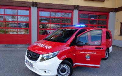 Neues MTF für die Feuerwehr Lofer