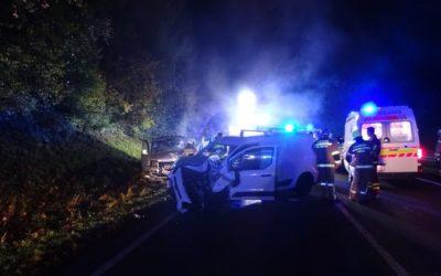 Verkehrsunfall Unken, 15. Oktober 2019