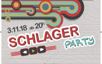 Schlagerparty, 3. November 2018