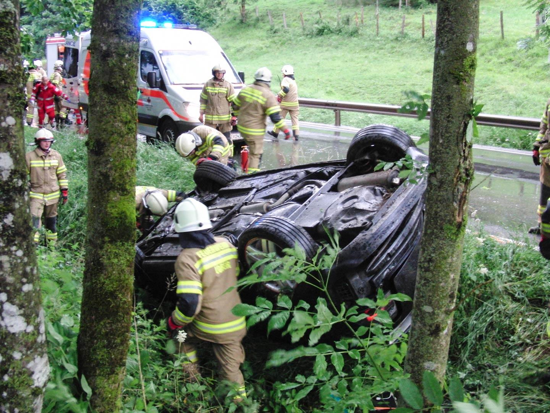 Verkehrsunfall Hallenstein am 28. Juni 2014