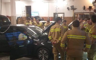Schulung Elektroautos am 02.04.2019