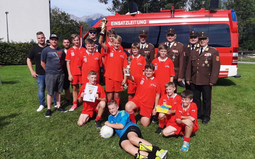 Fussballtunier Saalfelden am 14.09.2019