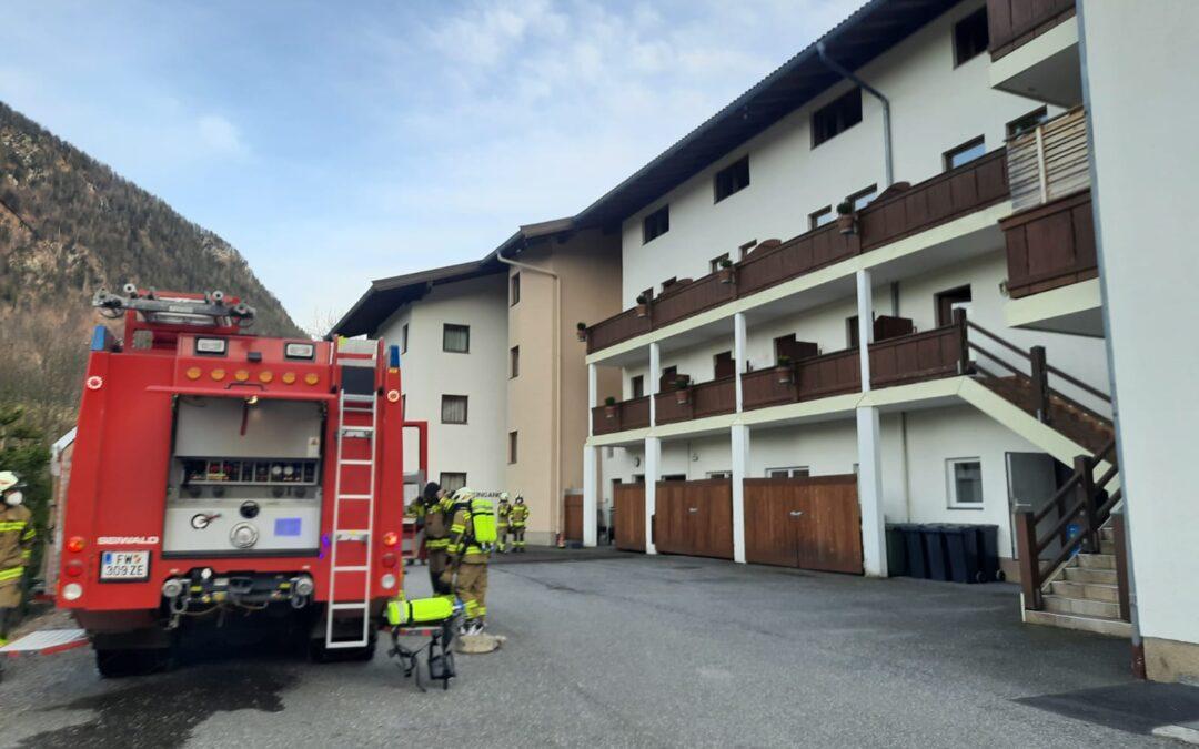 Küchenbrand Hotel am 10.04.2021