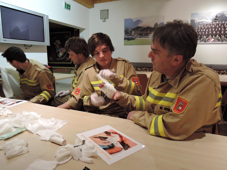 Übung Erste Hilfe, 2. Februar 2016