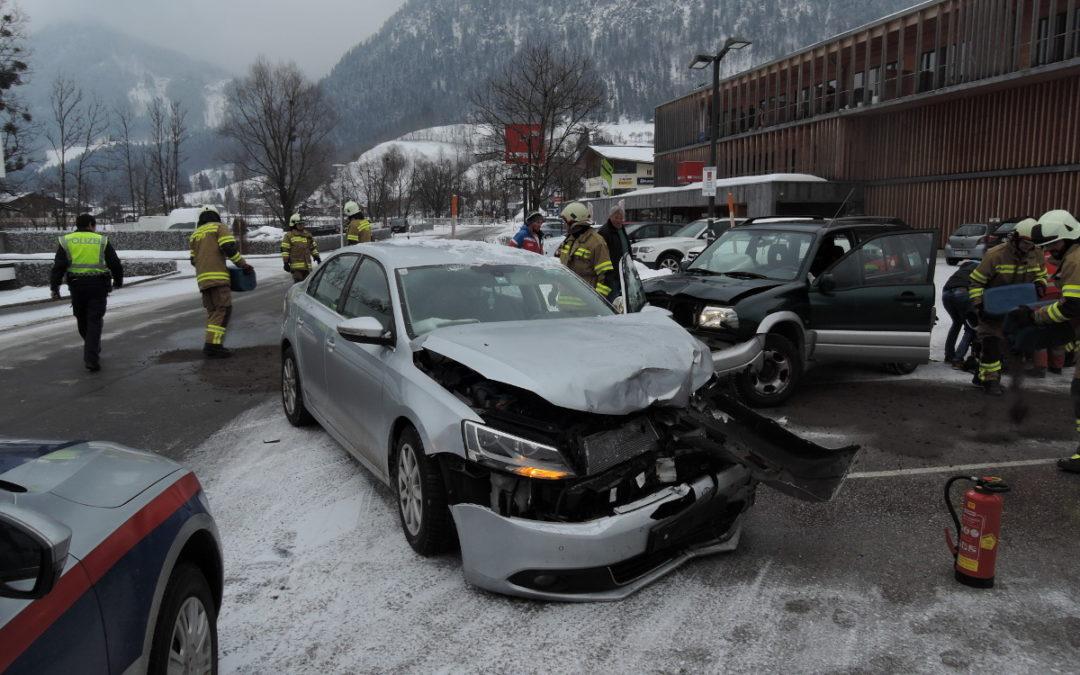 Verkehrsunfall Scheffsnoth, 22. Februar 2018