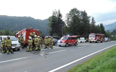 Schwerer Verkehrsunfall Reith B178, 8.8.2018