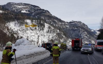 Schwerer Verkehrsunfall Obsthurn, am 07.02.2019