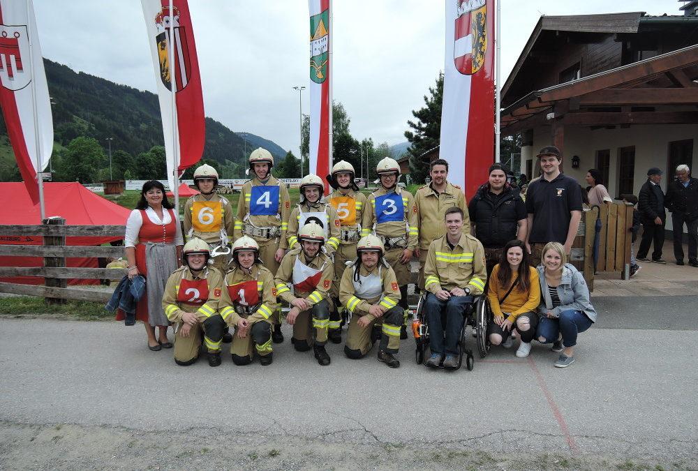 Bezirksfeuerwehrbewerb in Maishofen am 08.06.2019