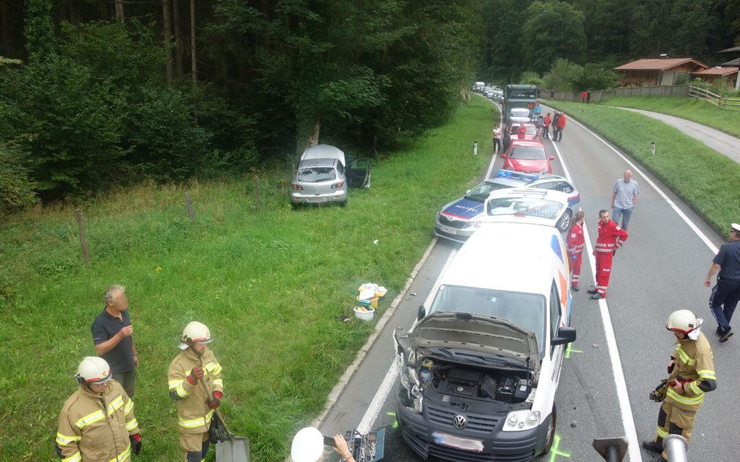 Verkehrsunfall Hallenstein, am 05.09.2019