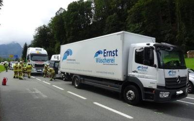Verkehrsunfall Au Einfahrt, 6. September 2019