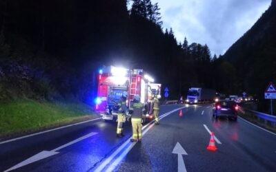 Verkehrsunfall Strub am 06.10.2021