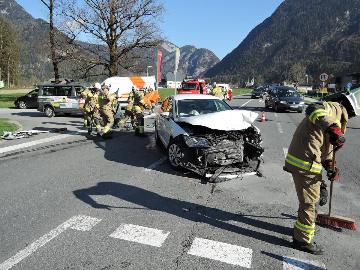 Verkehrsunfall, 20. April 2015