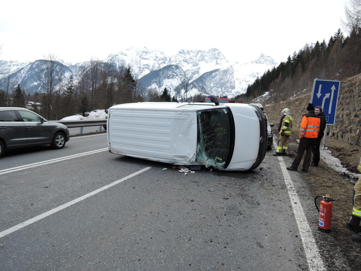 Fahrzeugbergung B178, am 21. Februar 2015