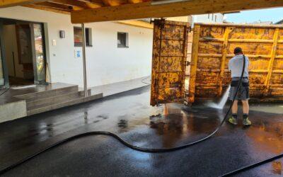 Hochwassereinsatz Uttendorf am 22.07.2021