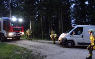 Fahrzeugbergung Mayrberg, am 01.08.2019