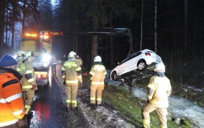 Fahrzeugbergung Scheffsnoth, am 03.02.2020