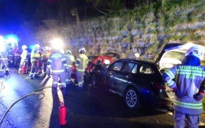 Verkehrsunfall B178 Hallenstein am 13.10.2021