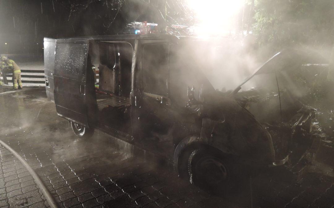 Fahrzeugbrand, 29. November 2017