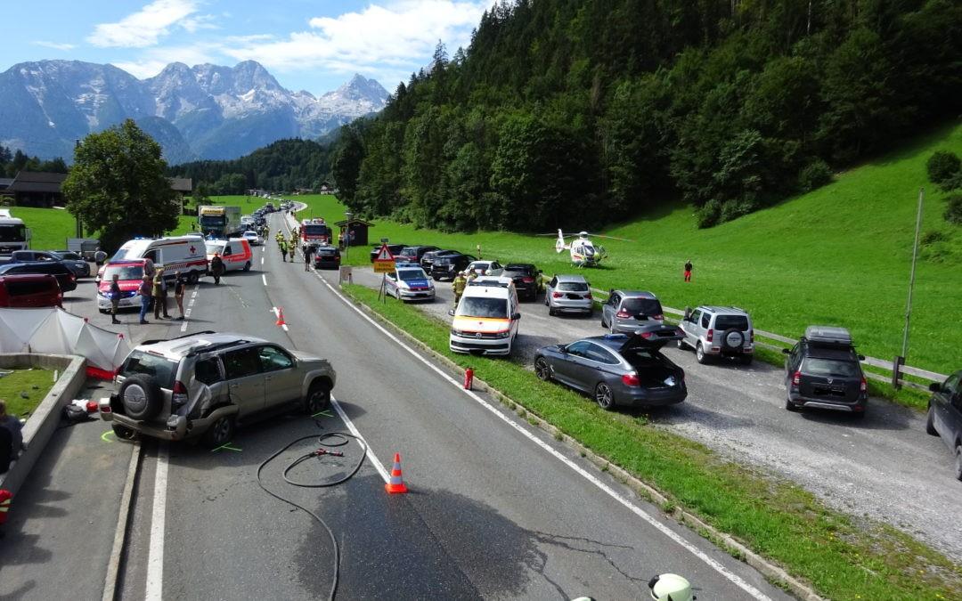 Verkehrsunfall Hallenstein, am 17.08.2019