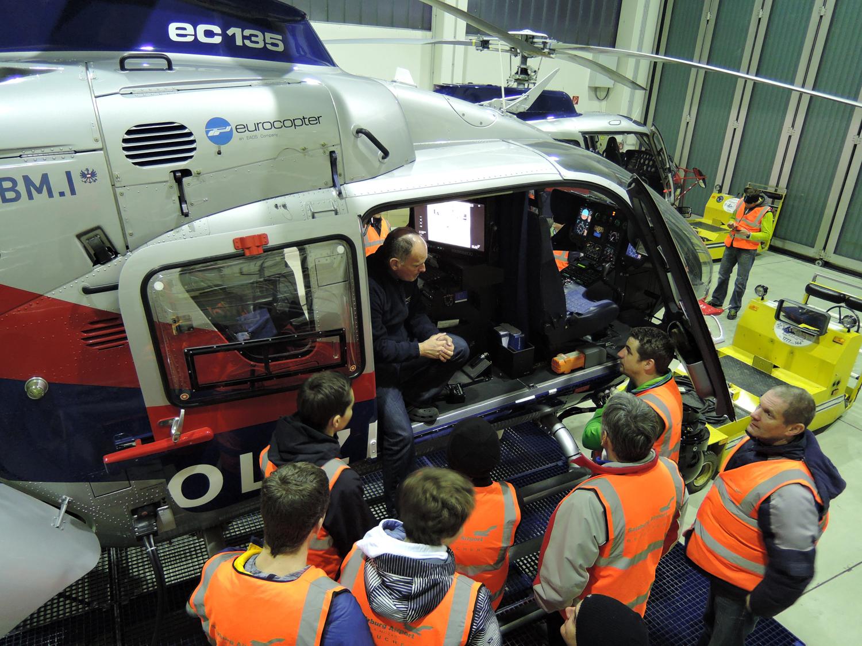 Schulung Hubschrauber, 16. Februar 2016