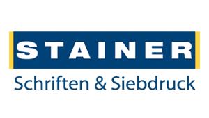 Logo Stainer Schriften & Siebdruck