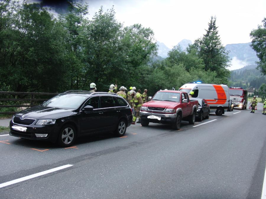 Verkehrsunfall 20. Juli 2014