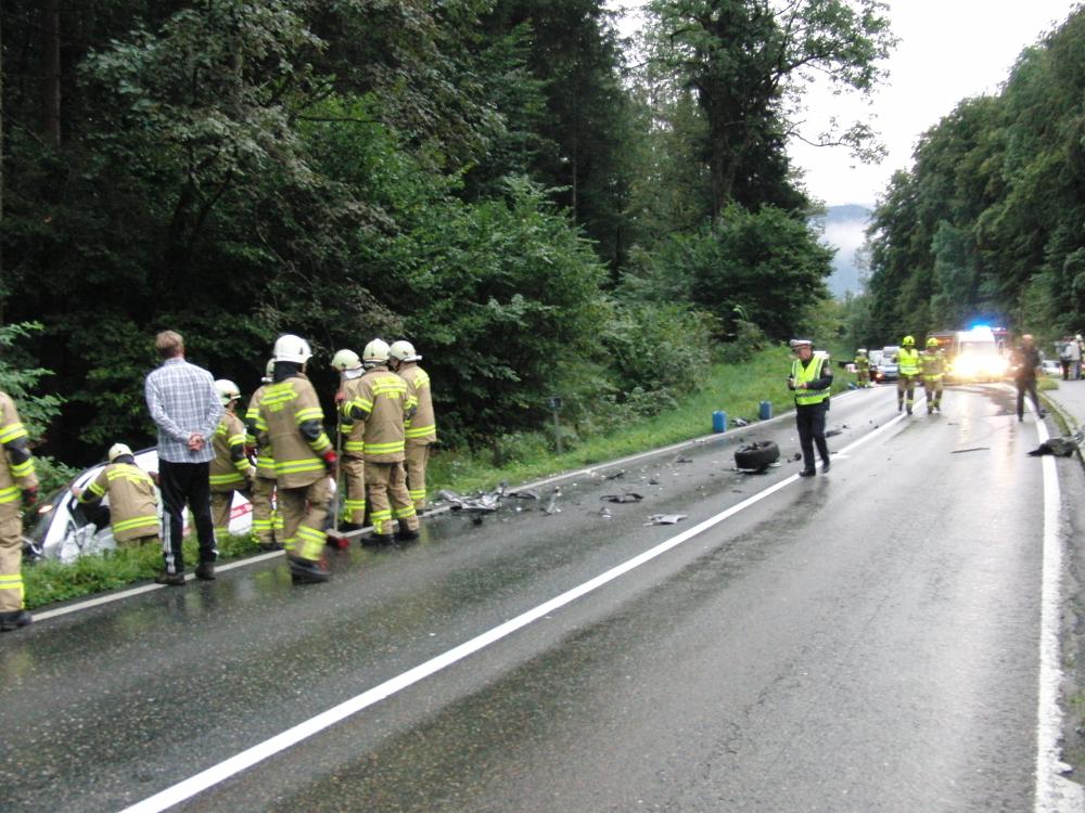 Verkehrsunfall, 27. August 2014