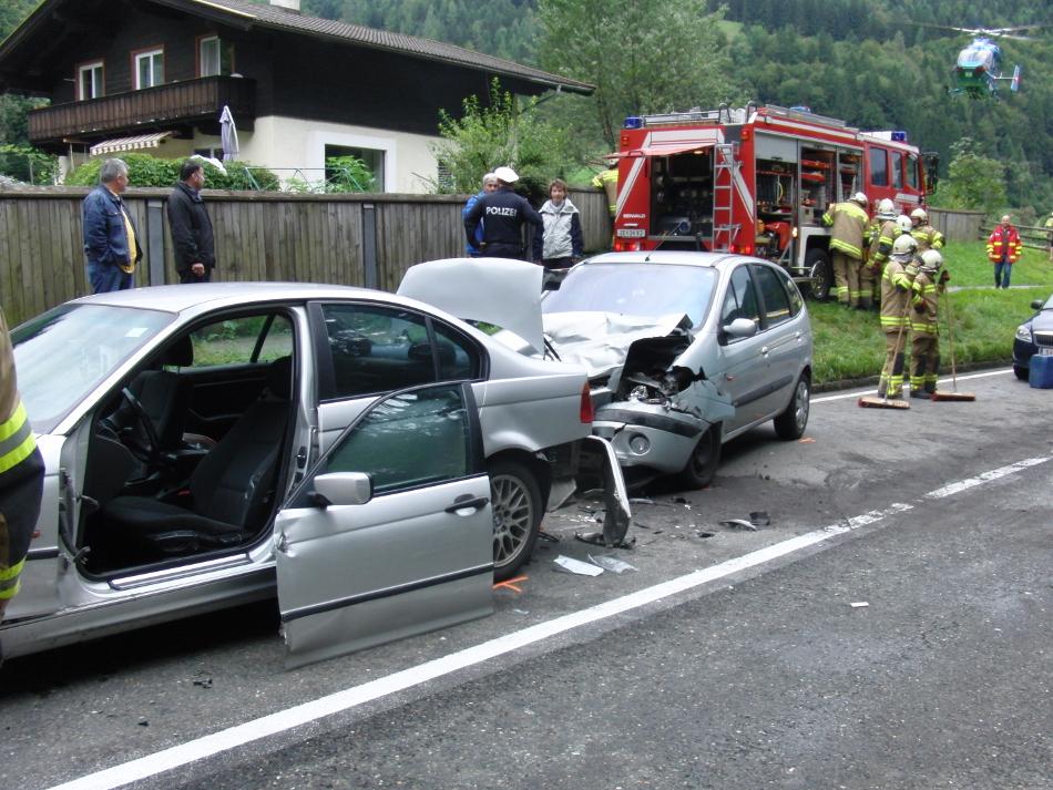 Verkehrsunfall am 30. August 2014